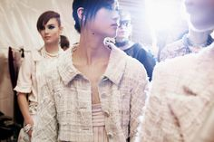 ANDREA JANKE Finest Accessories: CHANEL Cruise 2013/14 Singapore - Backstage