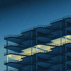 Tu recepcja           - archatlas: Big City Lights byIvo van de Grift