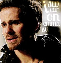 """""""I swear on Emma Swan"""" -- #OUAT #Hook #Emma #CaptainSwaan"""