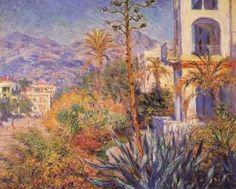 Monet - Villa à Bordighera