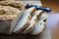 Gluten-Free Artisan Bread. Story, Photos & Recipe on my blog: http://www.KitchenTravels.com xo, Dawn