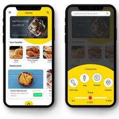 Design app food mobile ui 39 ideas for 2019 Ios App Design, Mobile App Design, Android App Design, Mobile Application Design, Design Logo, Android Ui, Desing App, Design Design, Mobile App Ui