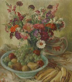 Georges Morren (Belgian, 1868-1941) A STILL LIFE