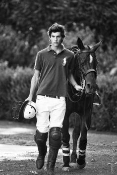 Because polo players always get the girl