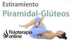 Estiramiento para el piramidal, glúteos y músculos pelvitrocantéreos.