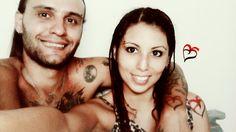 tatuaje con iniciales, tatuajes iguales, corazón con iniciales AS ❤ Enamorados por siempre