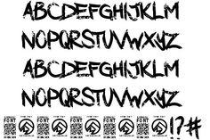 Dark Waters font by Chris Vile  #fonts #typography #ttf #design #webdesign #font #typeface