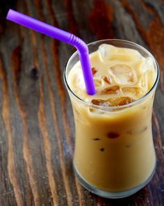 Iced Coffee. I discovered this a few month ago when I want coffee and the day was too hot. Coffee+ice+milk=wonderful. And cream, if you want!