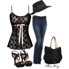 """Stylin'"" by keri-cruz on Polyvore"