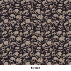 Hydrographics film skull pattern MS043