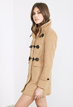 Burberry Brit 'Blackwell' Wool Duffle Coat, Signature check print lines the hood of a hearty wool duffle coat crafted in a slim silhouette and detailed with three roped toggle closures. Burberry Coat, Burberry Outfit, Winter Coats Women, Coats For Women, Jackets For Women, Outerwear Women, Outerwear Jackets, Zara Jackets, Camel Coat