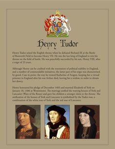 tudor dynasty | Henry VII | The Tudor Blog