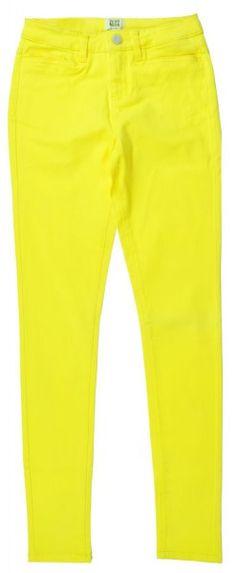 VERO MODA Damen Hose Normaler Bund NEON JEGGING, Gr. 26/32, Gelb Bekleidung & Accessoires Damen Jeans | Hosen