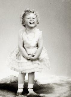 Queen Elizabeth II, age 2., simply adorable