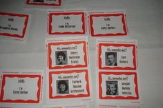 50th Reunion Favors Pictures. Class Reunion Name Tag Template