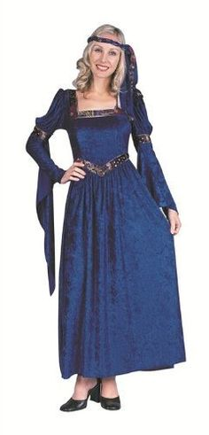 RG Costumes Women s Renaissance Beauty Adult Lady Plus Sized (Blue) Best  Halloween Costumes  amp e467daae73c8