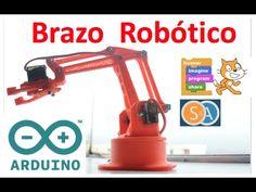 7 Brazos robóticos que te puedes construir con Arduino