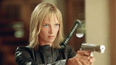 Uma Thurman    Action Credentials: The Kill Bill movies, The Avengers (as Emma Peel), My Super Ex-Girlfriend  Weapon of Choice: Hattori Hanzo Samurai Sword