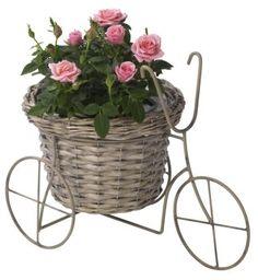 Blomsterpotte ZENIA sykkel B21xL35xH27cm