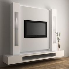 Image result for מתקן לטלויזיה תלויה על הקיר Modern Design, Room, House, Tv Units, Furniture, Excercise, Home Decor, Projects, Ideas
