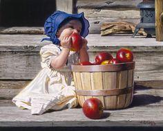 Adorable, Amish girl