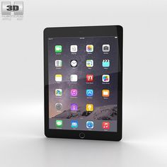 iPad Air 2 3d model from humster3d.com. Price: $40