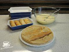 "Secretele bucatariei noastre: CLATITE BANATENE SAU ""CA LA ANA LUGOJANA"" Camembert Cheese, Hamburger, Pancakes, Sweets, Bread, Breakfast, Desserts, Food, Deserts"