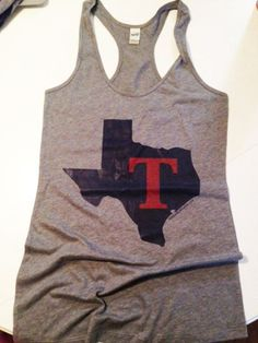 Texas Rangers Tank - Im looking for this one!