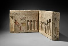 Reliefs from the Chapel of the Overseer of the Troops Sehetepibre. 13th Dynasty Period, ca. 1802-1640 BC., Middle Kingdom Egyptian. @tumblr.com