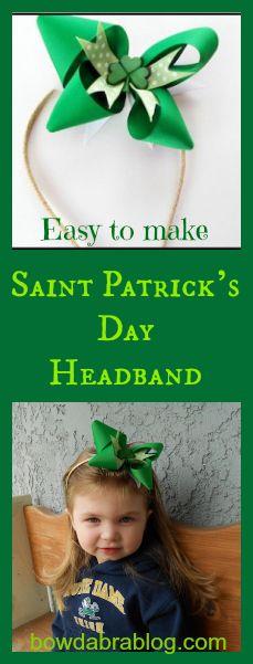 Saint Patrick's Day Headband
