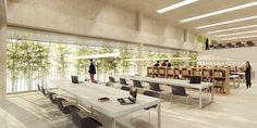 Nova Sede Galpão Cine Hortoarquitetura: MACh