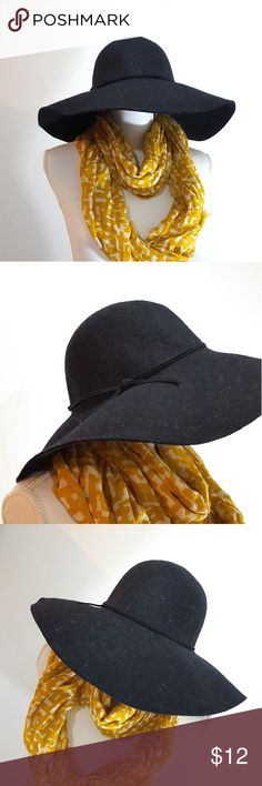 Floppy Dark gray hat Cool Floppy hat by Joe's Fresh. Like new. Worn maybe twice. Joe Fresh Accessories Hats