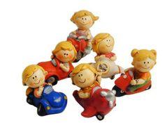 Simpaticissime bambine su motori ed altri veicoli.. adatta per il fai da te...