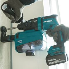 For those smaller concrete drilling jobs, the Makita AVT Rotary Hammer is among the most comprehensive light concrete drilling tools.