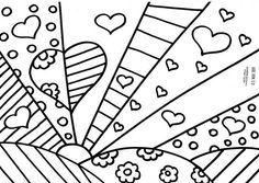 35 Best Britto images | Coloring pages, Coloring books, Vintage ...
