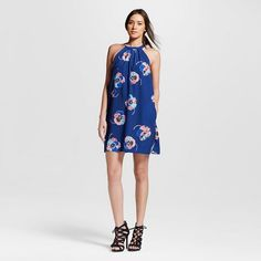 Women's Poppy Print Halter Dress - ISANI For Target