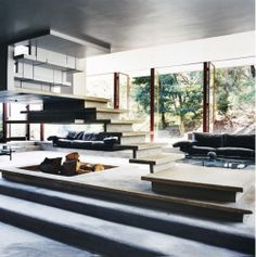 tumbln michael wee architecure modern home stairs concrete cia desiretoinspire