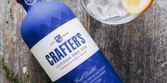 Crafters Gin via The Dieline http://ift.tt/1XOCq65