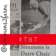 """""""#tbt to 2011 when @kenzie_jae98 was the June Dairy chairperson for 4H in our county... #shewaslittle #waytoocute #farmersdaughter #calf #dairybabies…"""""""