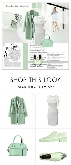 """""""Mentol Look"""" by lucky-1990 ❤ liked on Polyvore featuring Whiteley and Marni"""
