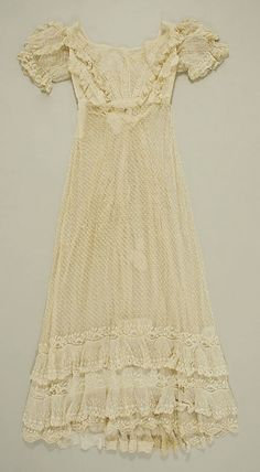 This might have been a dress Lydia would have worn during the time period in which she lived.