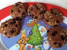 rum and raisin Christmas cookies. The Hungry Mum.