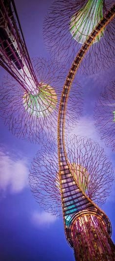 Gardens by the Bay Scoops Prestigious Building of the Year Award at the World Architecture Festival Perspective: Supertrees, Singapore Singapore Garden, Singapore Travel, Singapore Singapore, The Places Youll Go, Places To See, Beautiful World, Beautiful Places, Gardens By The Bay, Amazing Architecture