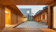 Risultati immagini per Kim Jong-kyu architect Asian Architecture, Space Architecture, Building Drawing, Home Landscaping, Modern Buildings, Minimalist Home, Traditional House, Teak, New Homes
