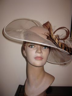 HAT ACADEMY LESSON 17 - BUCKRAM CROWNS › Learn how to create a Buckram Crown then three ways to cover them http://hatacademy.com/group/lesson-17-buckram-crowns