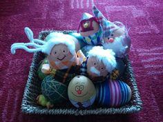Homemade Easter eggs :) So cute!!