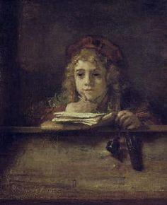 Rembrandt van Rijn - Rembrandt, Titus