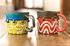 アートスペース油亀企画展 「珈琲のための器展ーうつわの数だけ、味がある。ー」より