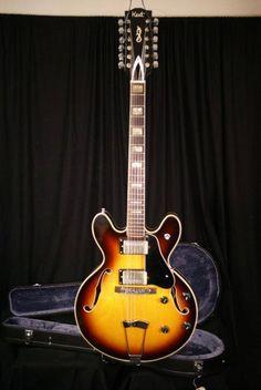 Japanese made Kent 12 String Electric Guitar.