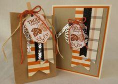 Thanksgiving set- Paper Pumpkin